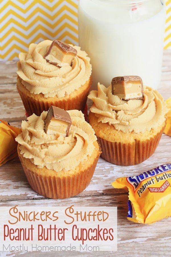 peanut butter cupcakes cake mix