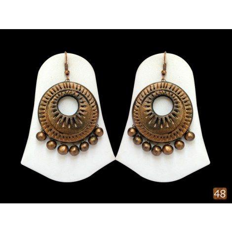 look-Terracotta designer jewellery-Jewellery-48craft