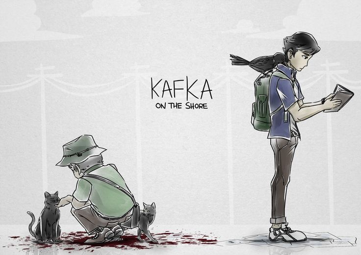 Kafka on the shore by Oneirio.deviantart.com on @DeviantArt