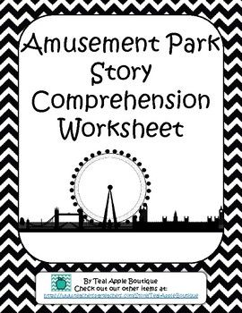 Amusement Park Story and Reading Comprehension Questions
