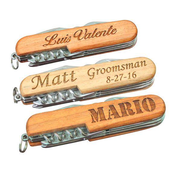 Engraved Multi Tool Groomsmen Gift Ideas by MyPersonalMemories