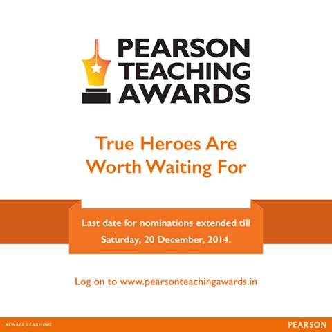 9 best pearson teaching awards 2014 images on pinterest last date for nominations extended till saturday 20 december 2014 for the pearson teaching fandeluxe Choice Image