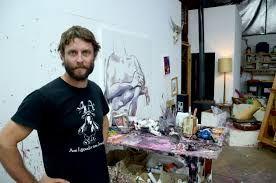 Ben Quilty studio