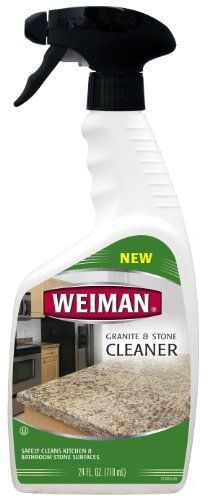 Weiman Granite and Stone Cleaner Trigger, 24-Ounce by Weiman. $13.01. Neutral pH to ensure compatibility with a variety of stone surfaces.