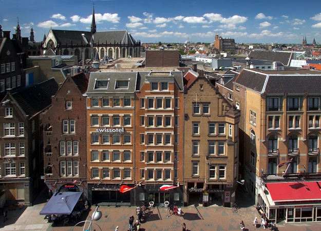 Swissôtel Amsterdam outside view of Amsterdam