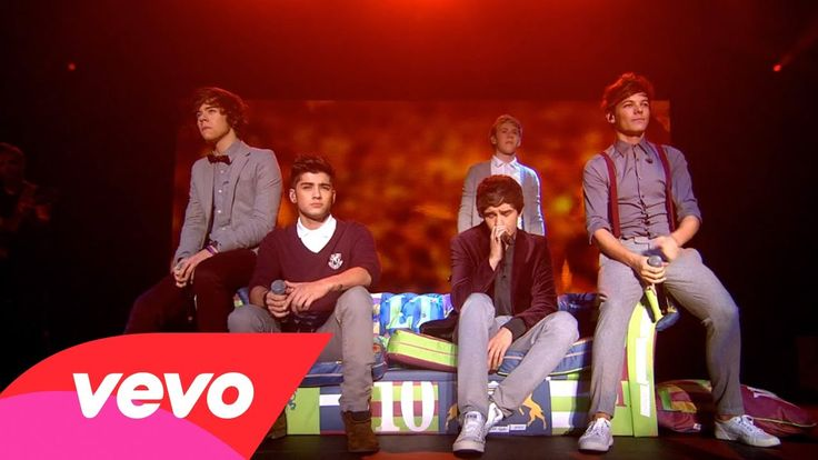 One Direction - More Than This (Up All Night: The Live Tour) My favorite song! :) Little things too!