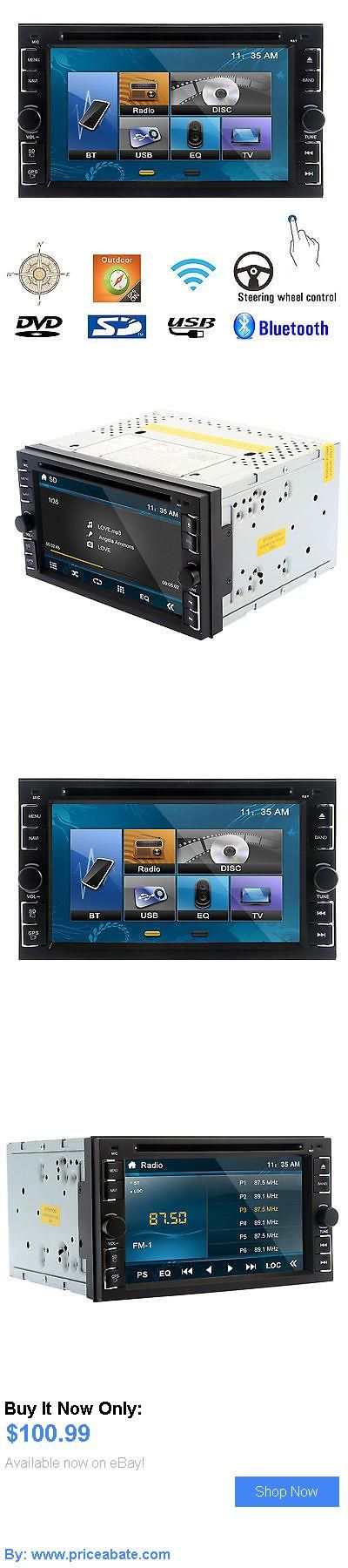 Vehicle Electronics And GPS: Double 2Din 6.2 Car Stereo Dvd Cd Mp3 Player Hd In Dash Bluetooth Ipod Tv Radio BUY IT NOW ONLY: $100.99 #priceabateVehicleElectronicsAndGPS OR #priceabate