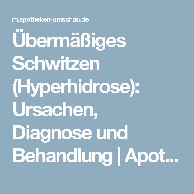 Übermäßiges Schwitzen (Hyperhidrose): Ursachen, Diagnose und Behandlung | Apotheken Umschau