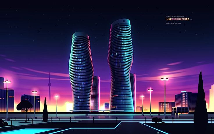 Skyscrapers by Romain Trystram