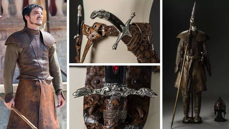 Game of Thrones Fan 3D Prints His Very Own Replica of Oberyn Martell's Blade http://3dprint.com/38542/game-of-thrones-oberyn-martell/