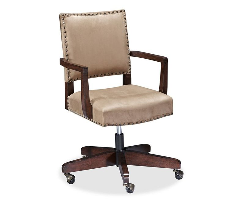 Manchester Swivel Desk Chair | Pottery Barn AU