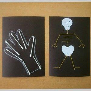skeleton craft idea for kids (1)