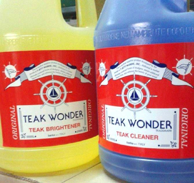#teak care products by #teakwonder