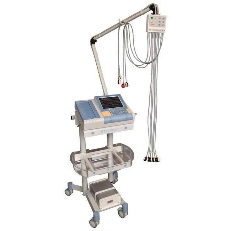 BTL-Decapus II. System podciśnieniowy do EKG i prób wysiłkowych firmy BTL.