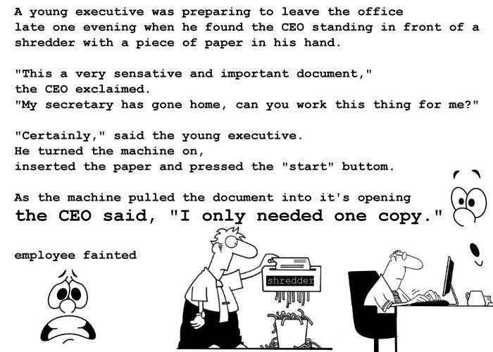 young executive
