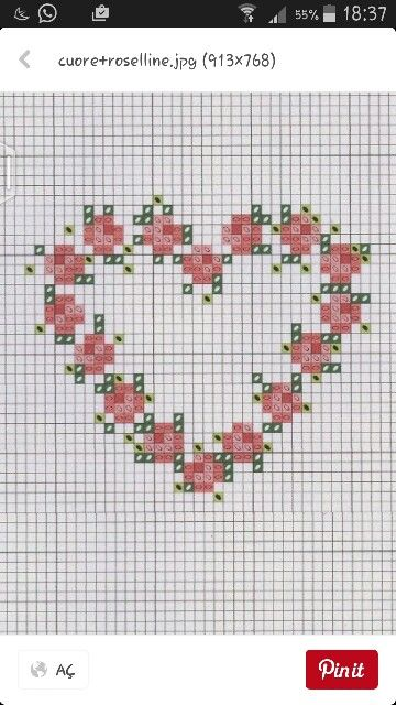 #sareetamin #crosstitch #etamin #kasnakişi #çarpıişi #etaminpano #şablon #kalp #rose #gül