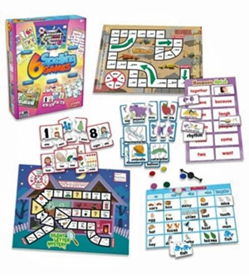 Picture of 6 Spelling Games