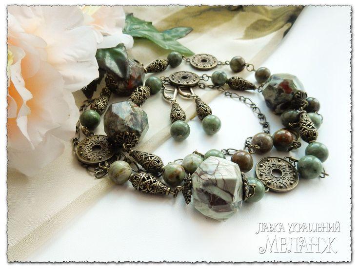 Картинки по запросу украшения из натуральных камней ...