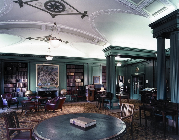 Athenaeum library, Liverpool