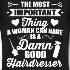 Belangrijkste is een goede kapper, kapper, kapsalon, stylist, kapper, kapster, kapsel, gezegde, grappig, kappers shirt, kappers, kapsalon, salon, schaar, kapsel, kam, haar knippen