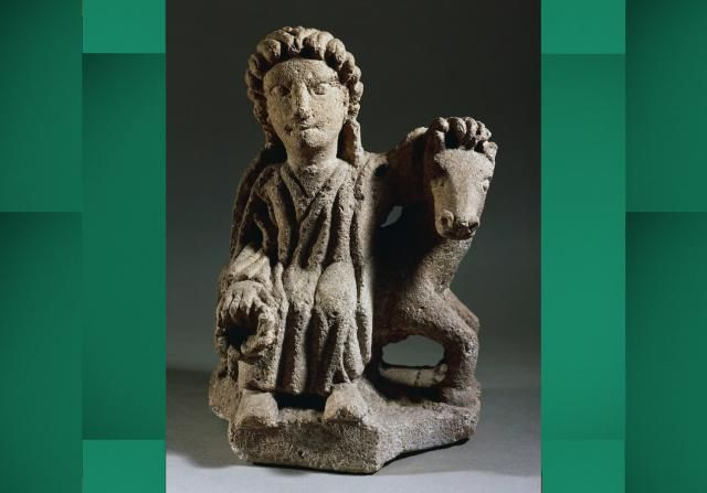 Who Was Epona, the Horse Goddess of Gaul?: This statue of Epona was found in what is now France.