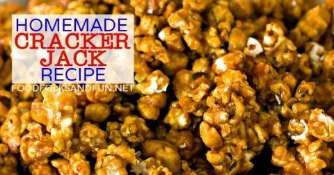 Homemade Cracker Jack Recipe   Popcorn   Pinterest   Homemade crackers ...