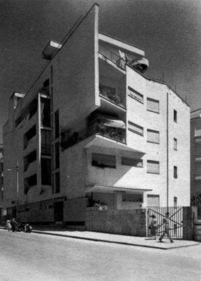 Casa Astrea. L. Moretti -anni-50