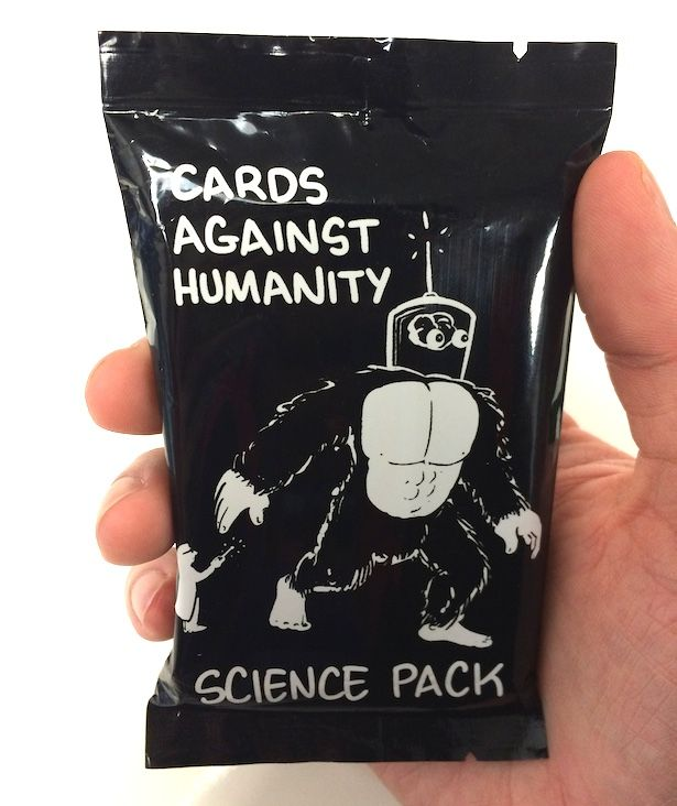 Cards against humanity science set