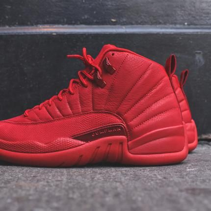 buy online 0585c 553f1 Nike Air Jordan 12 Retro - Gym Red   Black