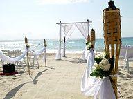 Beach Wedding Ceremony Snapper Rocks Styling by www.breezeweddings.com.au #snapperrocks #snapperrockswedding #coolangattawedding #beachwedding #goldcoastwedding #bambooarbor #bambooarch #bambooweddingarch #breezeweddingsaustralia