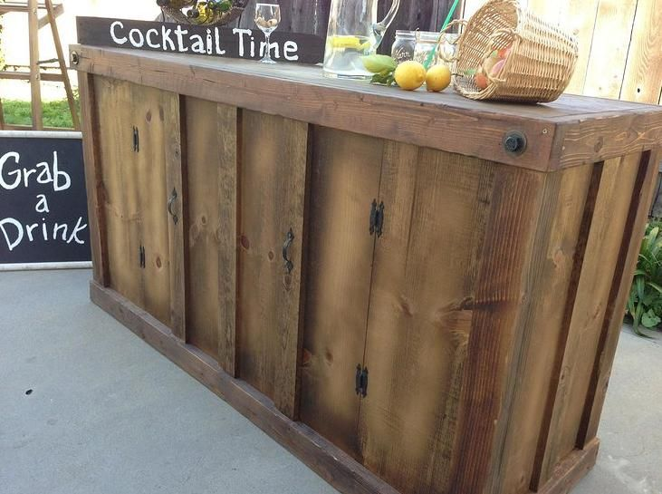 1000 ideas about rustic candy bar on pinterest vintage for Bar de madera vintage