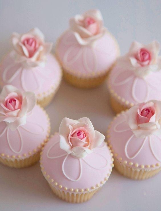 Sweet cupcakes.