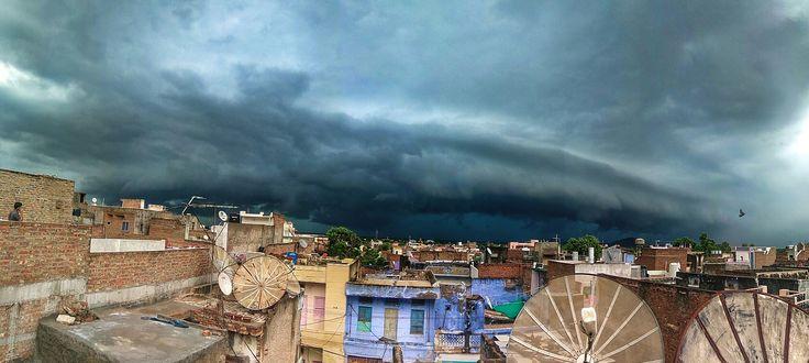 #Dense #Cloud #Before #Heavy #Rain #In #Jalore #City #Rajsthan #Click #By #Qayyum