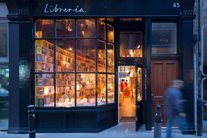 Libreria Bookshop, 65 Hanbury Street, London