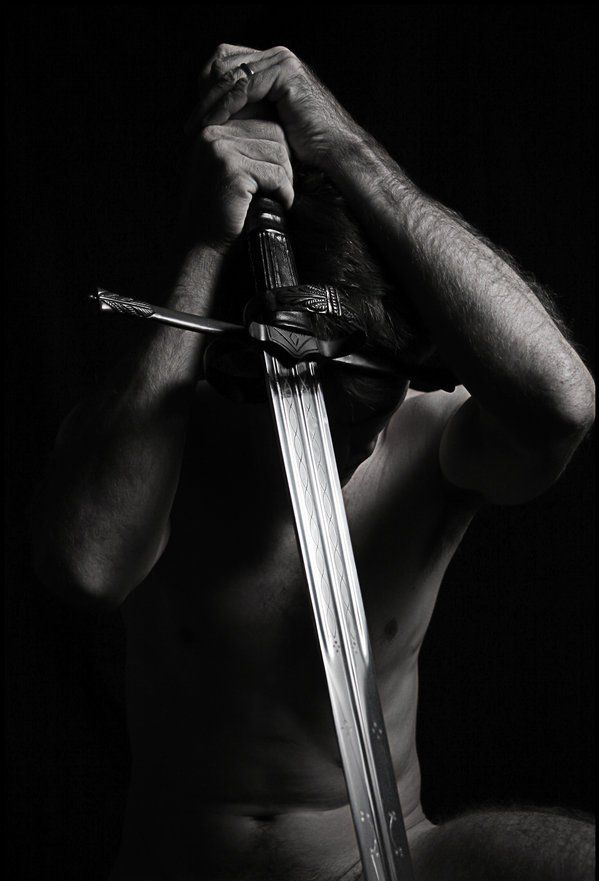 """WARRIOR KING  """" …in the heart of every man is a desperate desire for a battle to fight, an adventure to live, and a beauty to rescue."""""""