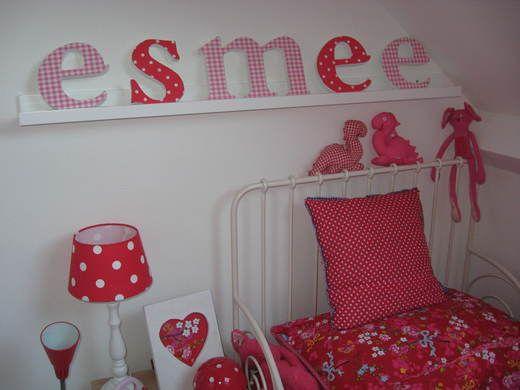 Kinderkamer met roze en rode accentkleuren  Pink and red #kidsroom