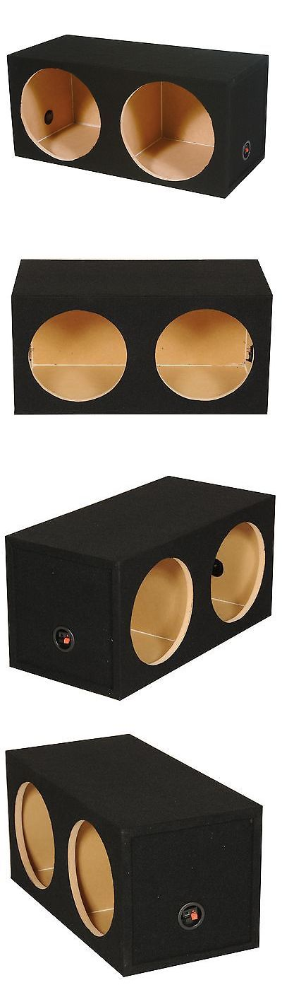 Speaker Sub Enclosures: Q-Power 15 Dual Sealed Car Audio Subwoofer Sub Box Enclosure | 34 X 16.5 X 13 -> BUY IT NOW ONLY: $46.99 on eBay!