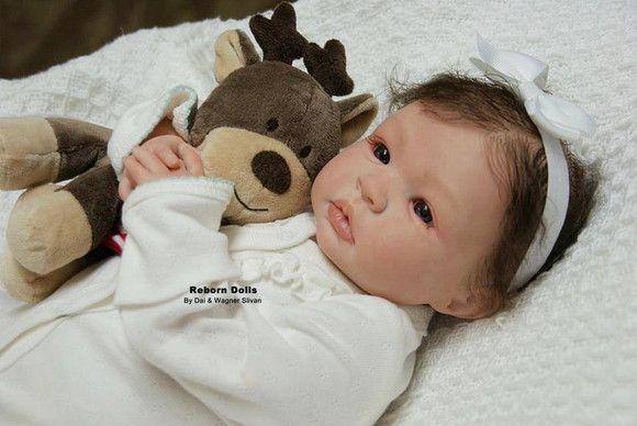 Bebe Reborn Menina Detalhes Reais Lindissima Promocao Com Imagens