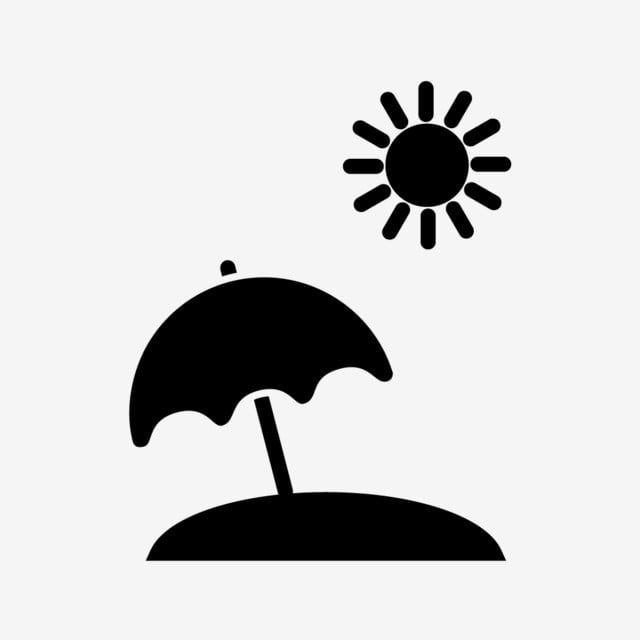 Vector Beach Umbrella Icon Beach Icons Umbrella Icons Umbrella Png And Vector With Transparent Background For Free Download Beach Icon Beach Umbrella Umbrella