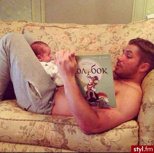 I would love to have this picture of Noah and Baby boy. Noah with a shirt on though.