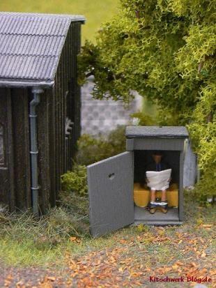 WC, Miniatur Museum, Hamburg