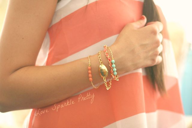 - Love Sparkle Pretty Blog -: DIY Arm Candy (Part II)