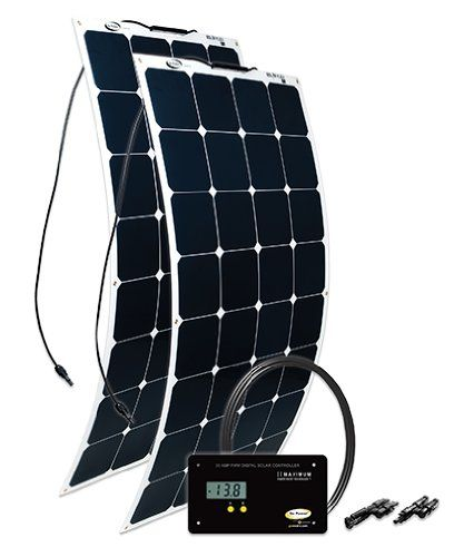 Go Power! flexible solar panels