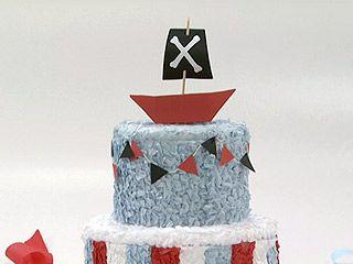 Manualidades y Artesanías | Torta de papel | Utilisima.com: Torta De, Paper, Party Ideas, My Jobs