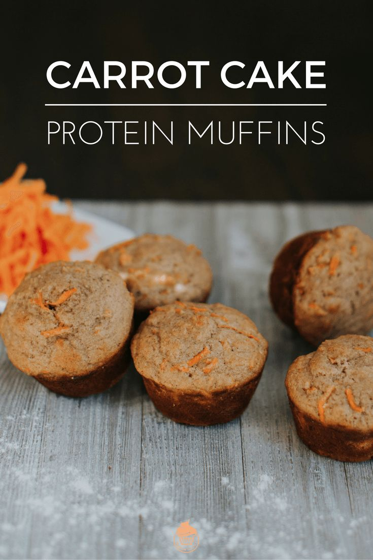Carrot Cake Protein Muffins (Perfect For Breakfast) | Protein Recipes