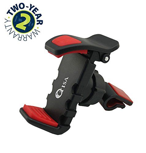 OTISA Portable Universal Car Air Vent Phone Holder Mount For iPhone Cell Phones / GPS / iPods / MP3 Player - Black