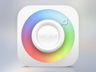 """sublime delicious icon """"Color Picker""""by Sanadas young 2013-08 vida dribbble 1179887"""