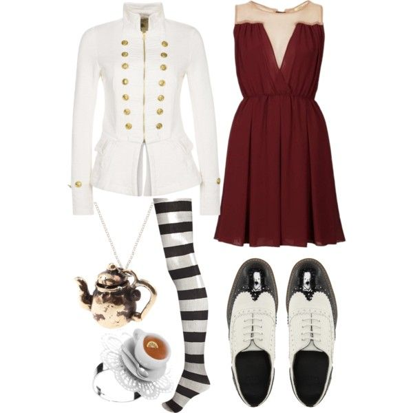 """Mad hatters daughter"" by knight-owl on Polyvore"