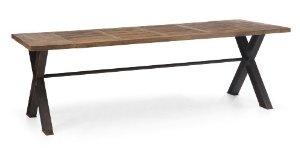 ZUO ERA Haight Ashbury Table, Distressed Natural
