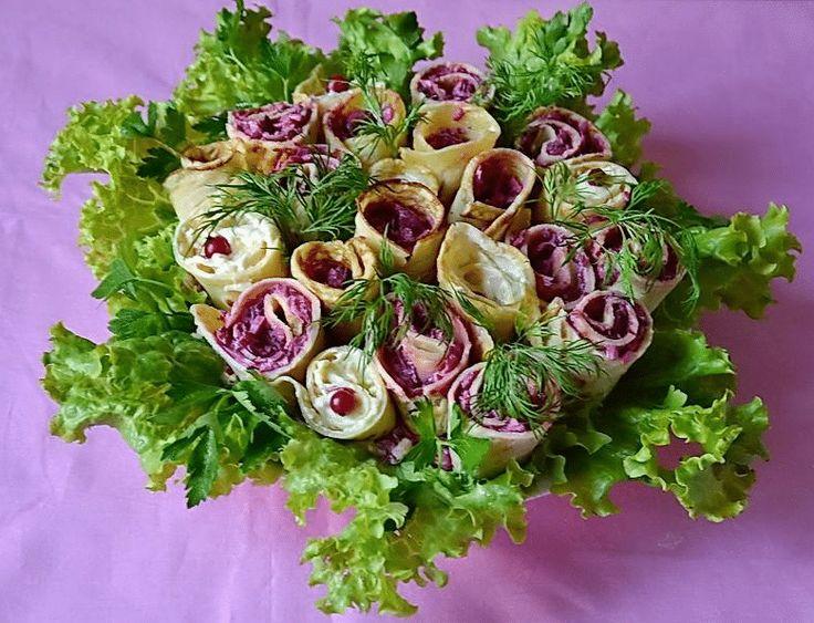 деревне пяти рецепт с фото салат розы из сельди это когда моя